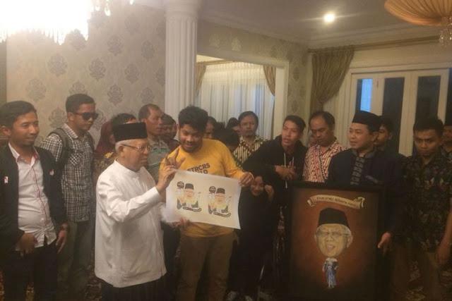 Ma'ruf Amin Minta Maaf di Depan Penyandang Disabilitas