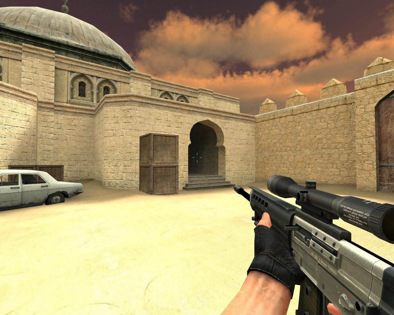 de dust20003 TR Counter Strike Sniper Crosshair Hile indir
