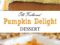 Pumpkin Delight Dessert Recipe