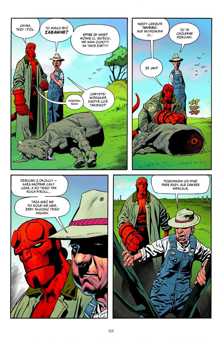 Hellboy tom 6 przykładowa strona