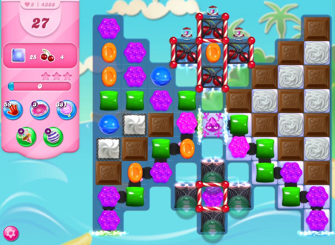 Candy Crush Saga level 4368