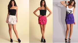 modelo de mini saia godê - dicas e fotos
