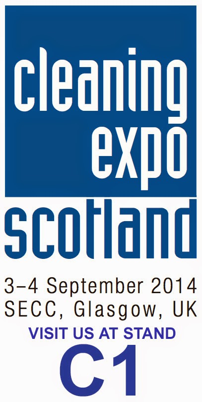 Scotland cleaning expo stand c1 3rd 4th september 2014 glasgow secc