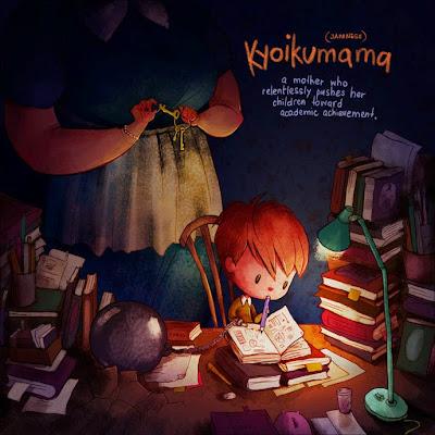 Kyoikumana (palavra de origem japonesa) - casos de mães que exigem muito do livro em relação aos estudos