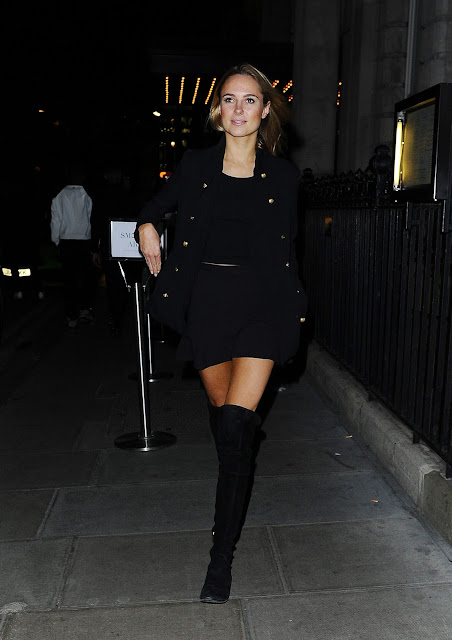Actress, @ Kimberley Garner - arriving at the Trapstar party at the Edition Hotel in London