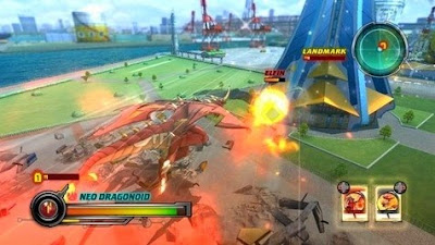 Download Game PPSSPP Bakugan Battle Brawlers Iso