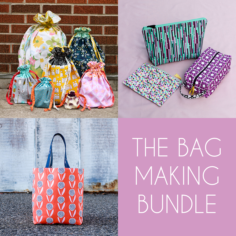 http://www.jenibakerpatterns.com/product/the-bag-making-pdf-pattern-bundle
