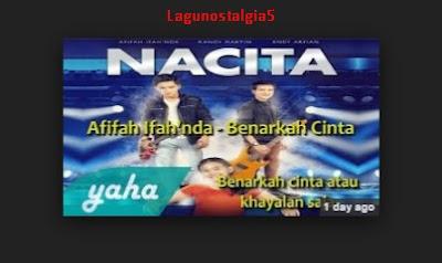Lagu Ost Nacita mp3 - Benarkah Cinta Terbaru MNCTV