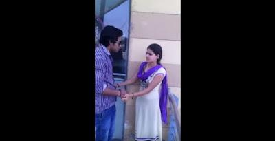 Very Forcefully Boy Lip Kiss & Romance Beautyful Girl Make Video by friends