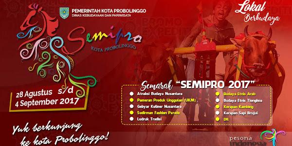 Jadwal SEMIPRO 2017 Kota Probolinggo