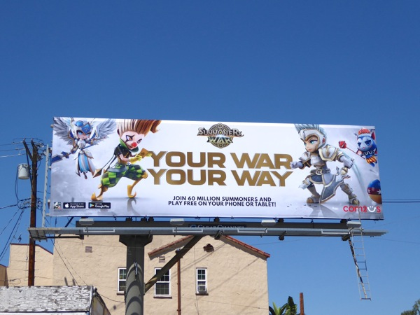 Summoners War Your war Your way billboard