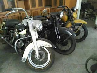 """LAPAK MOGE HARLEY ANTIK  11 unit Antik """"HARLEY DAVIDSON MOTORCYCLE"""""""