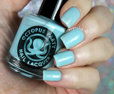 Octopus Party Nail Lacquer Big Sis, Lil Sis