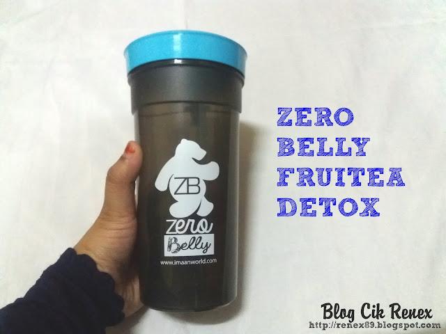 Detoks dengan Zero Belly Fruitea Detox