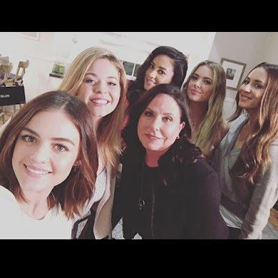 PLL cancelled after season 7. PLL cast Lucy Hale, Sasha Pieterse, Shay Mitchell, Ashley Benson and Marlene King