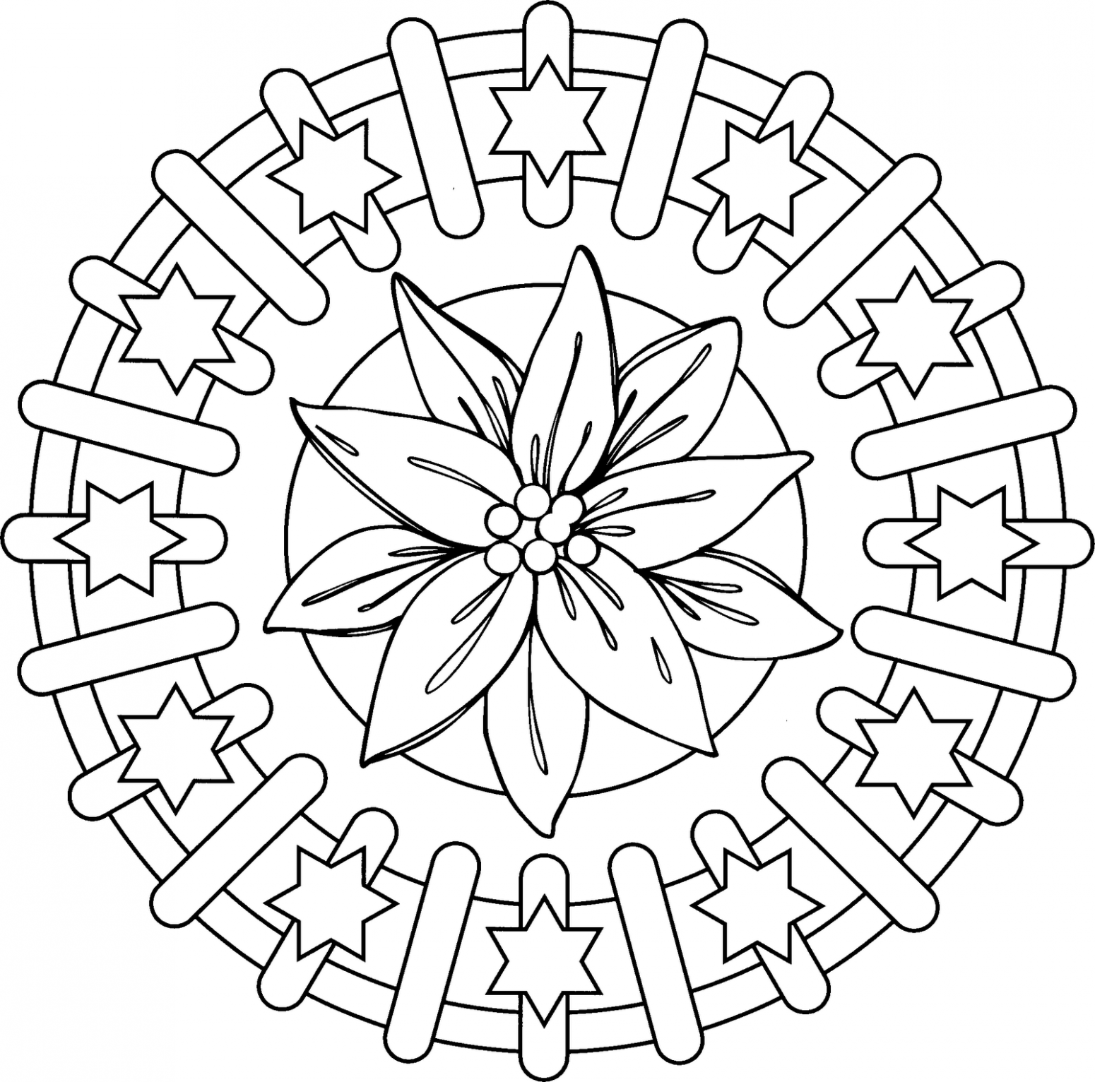 Printable mandalas for adults for Mandala coloring pages printable free