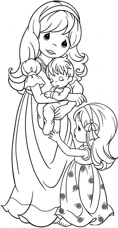 Robbygurl 39 s creations interchangeable wreath for Precious moments coloring page