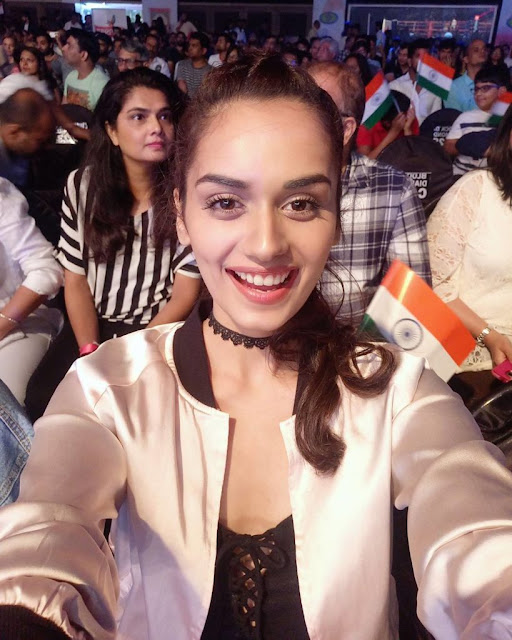 Manushi Chillar is bringing heavens down to earth with her fairy-like glow and serene beauty.