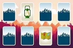 Dağ Temalı Hafıza Oyunu - Mountain Mind