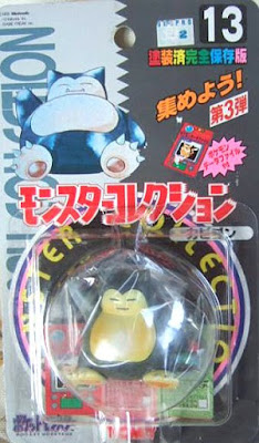 Snorlax Pokemon figure Tomy Monster Collection series