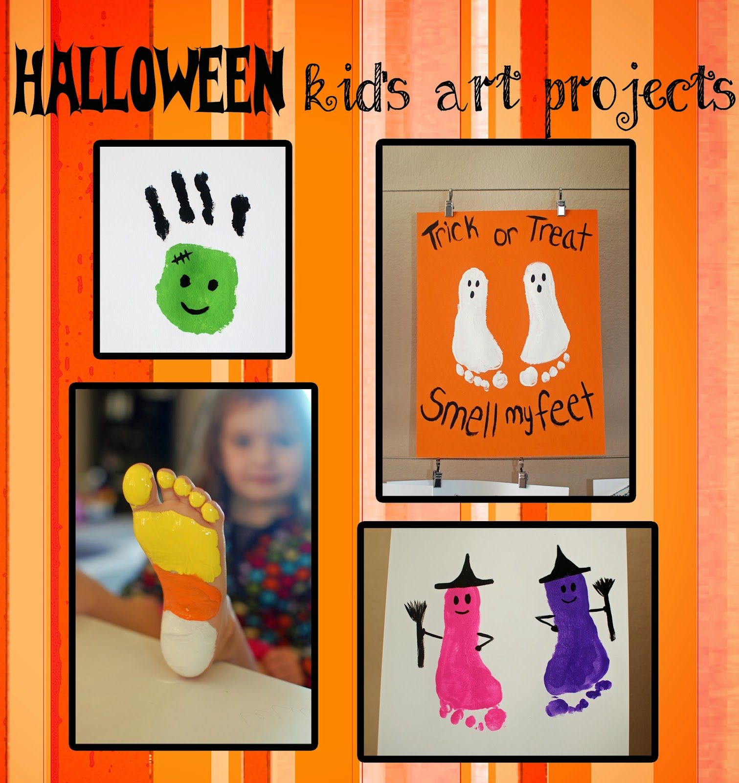 Halloween Kids Art Projects