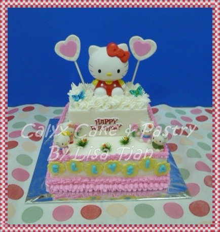 Calyx Cake Amp Pastry Birthday Cake Hello Kitty For Ellysia