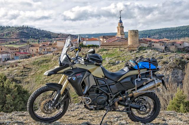 BMW F 800 GS Adventure. Trail Forever. La Ruta del Mimbre