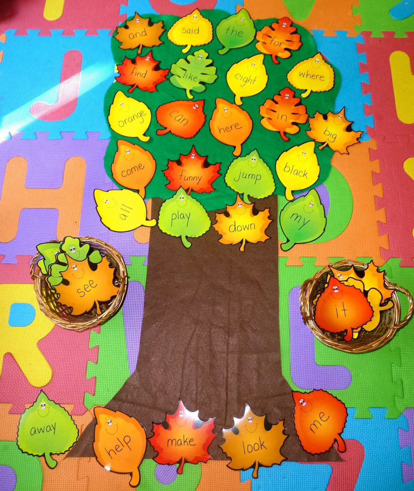 1 I Turned The Leaves Upside Down And The Lil Divas Had To Turn Over A Leaf And Try To Read The