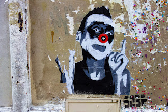 Sunday Street Art : Mimi the Clown - rue des Rosiers - Paris 4
