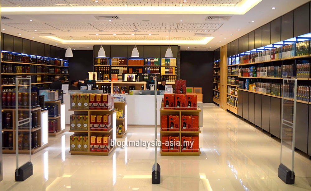 duty free liquor and wines shops in KLIA2