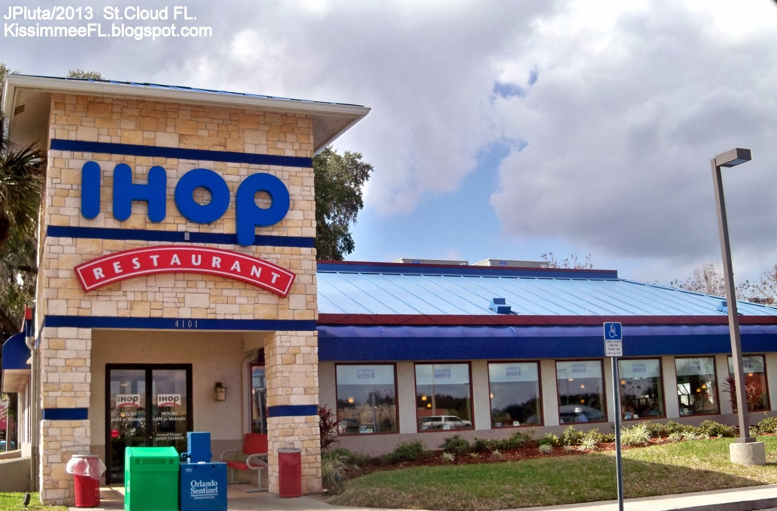 Ihop Saint Cloud Florida 13th Street International House Of Pancakes Diner Coffee Restaurant St Fl