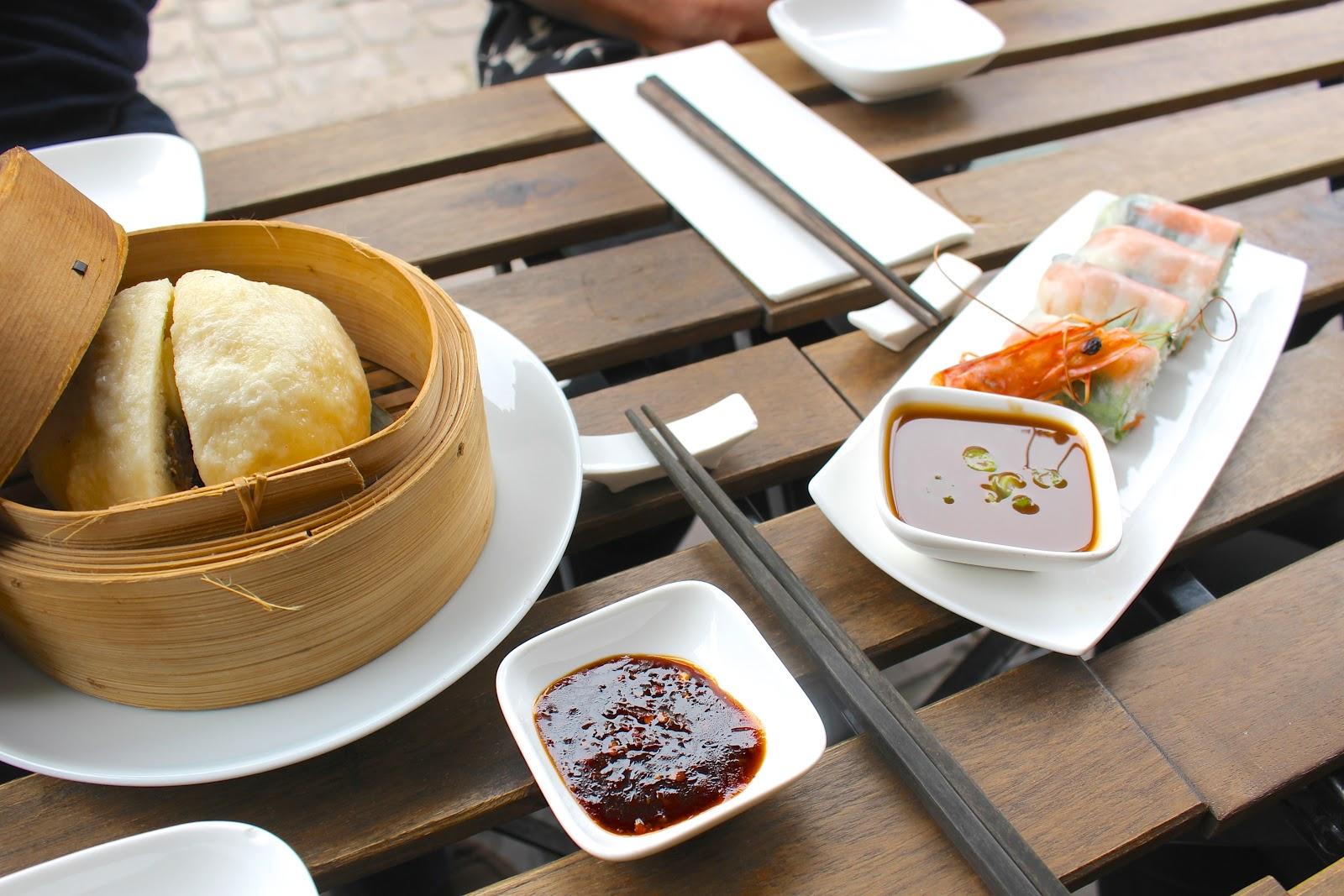 Bún Antwerp Vietnamese Streetfood steamed beef bun