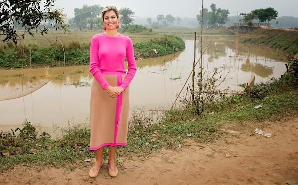 Queen Maxima visits Bangladesh - 2nd Day | Newmyroyals & Hollywood