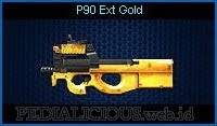 P90 Ext Gold