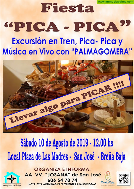 JOSANA: Fiesta Pica Pica