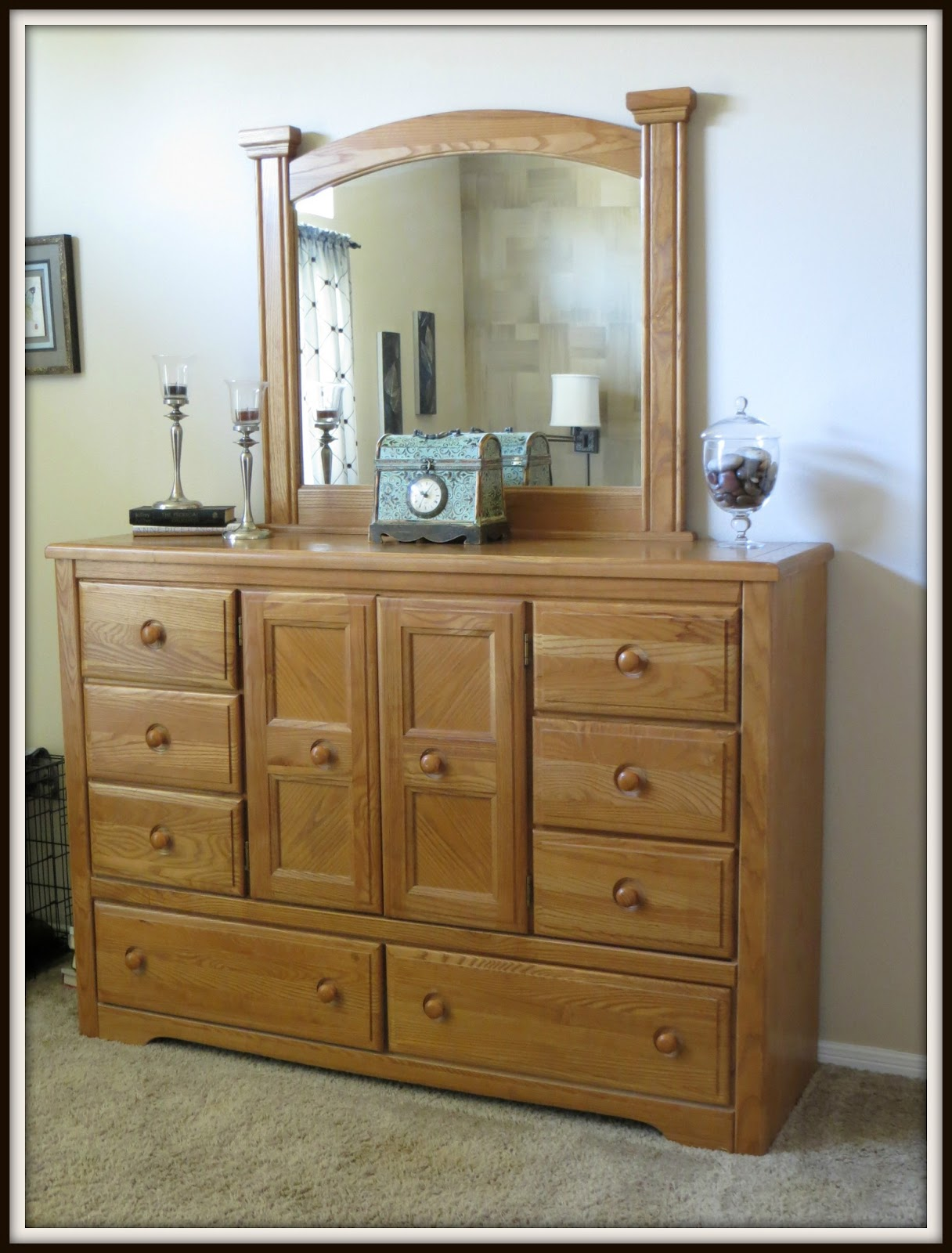Crafty In Crosby: Bedroom Furniture Makeover