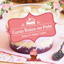Cupom Desconto Curso Bolos e Naked Cakes