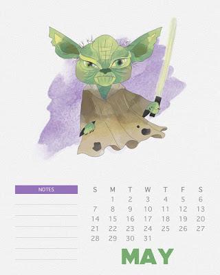 Calendário Star Wars