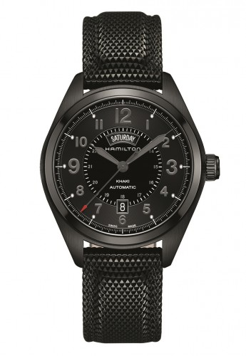 Hamilton Khaki Field Day Date Full Black