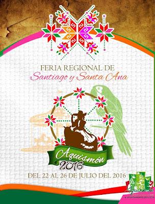 feria santiago y santa ana aquismón 2016