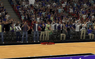 NBA 2K13 Sacramento Kings Arena Fans Patch