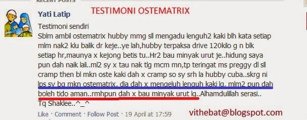 Testimoni Ostematrix