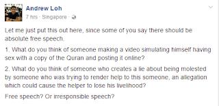 I believe in free speech* 2