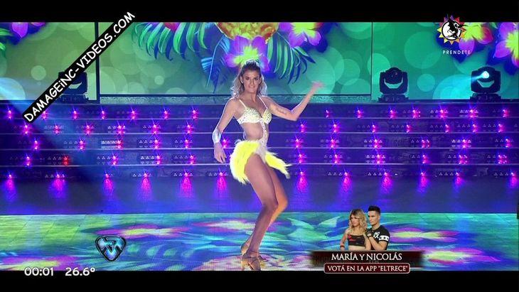 Maria Del Cerro sexy body in bikini dance Damageinc Videos HD