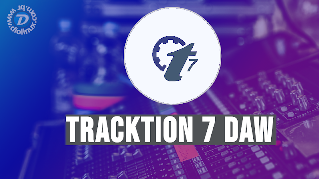 Tracktion 7 Digital Áudio Workstation pode ser baixado de graça