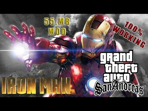 Download Iron Man Mod With Power For Gta San Andreas PC - My