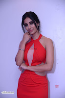 Alankrita new actress in Red Deep Neck Gown Stunning Pics ~  Exclusive Galleries 023.jpg