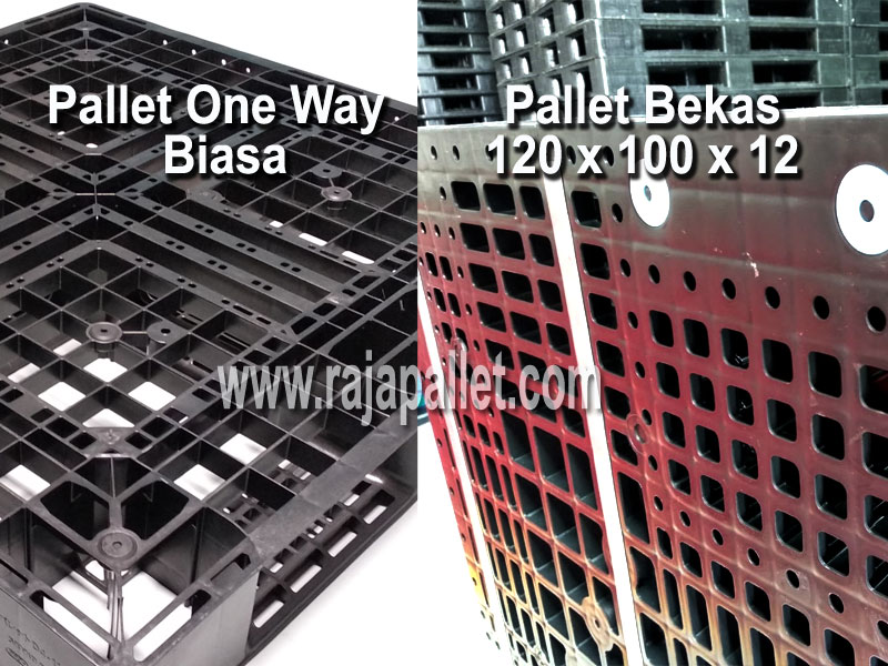 perbandingan pallet one way dengan pallet reversibel