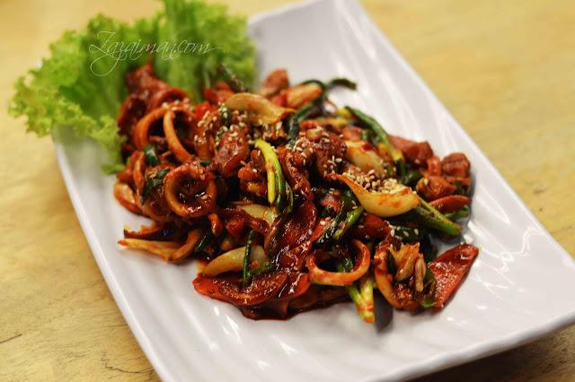 Menu Makanan Korea Di Restoran Hwa Ga Damansara Perdana