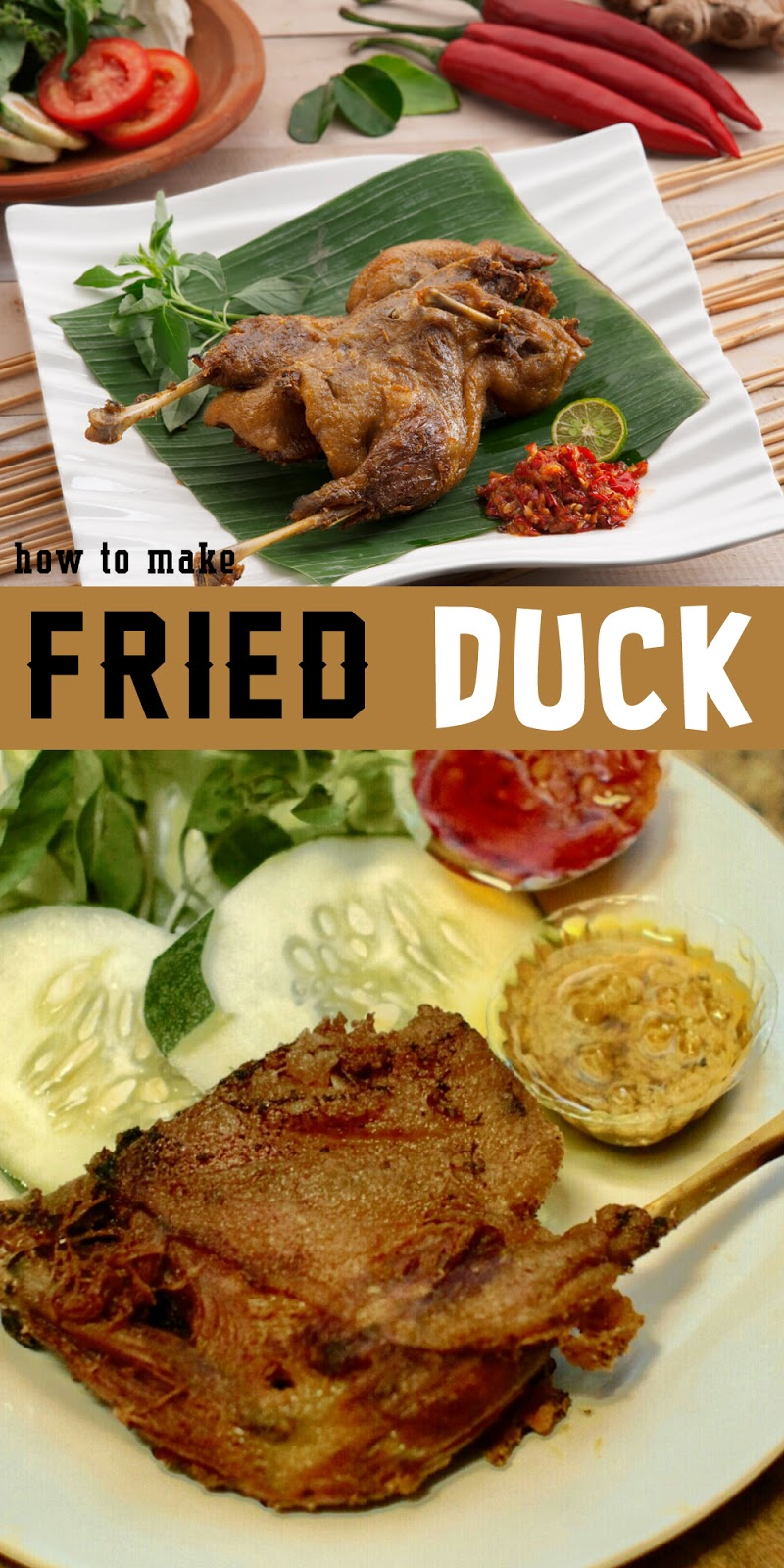 FRIED DUCK